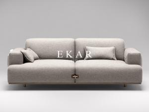 China High Quality European Style Linen Fabric Sectional Sofa Set Designs on sale