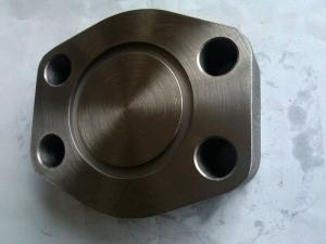 China Cast steel SAE Weld Flange pressing Process Apply to Construction HY61-HY62 on sale