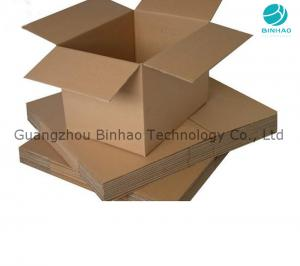 China Paper Corrugated Cardboard Boxes / Cigarette Master Carton Packaging on sale
