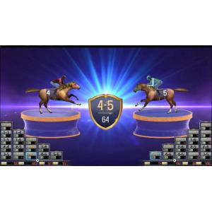 China Indoor Amusement Horse Racing Casino Game , Funny Music Horse Slot Machine on sale