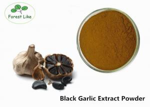 China Pure Allium Sativum Extract Black Garlic Extract 3% Polyphenols Anti-cancer on sale
