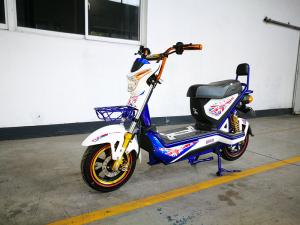 China 800w DC Brushless Motor Electric Road Scooter / Electric Bicycle Moped on sale