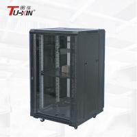 Communication 19 Inch Equipment Rack , Custom UPS Small Server Rack Cabinet