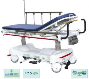 China Luxury Surgical Patient Transfer Trolley With Scaling System on sale