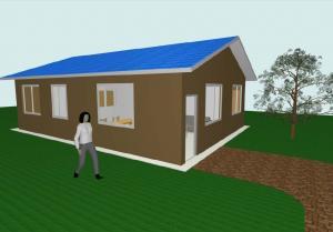 Modern Flat Pack 3 Bedroom House Plans Modular Homes For Guard House ...