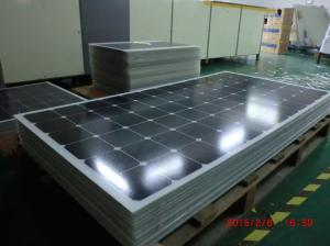 China 15KG 240W Generators High Efficiency Solar Cell 36 Volt High Reliable on sale