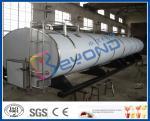 Ordeñe los tanques de la lechería del acero inoxidable del almacenamiento con -20℃ ~ gama de temperaturas de +40℃