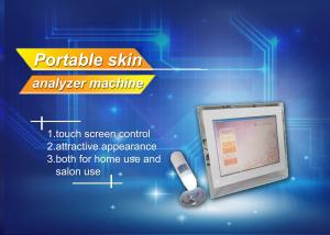 China Portable Home / Salon Facial Beauty Skin Analysis Machine With Touch Screen on sale