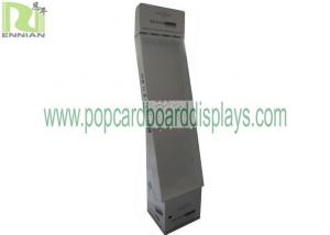 China Store Cardboard Display Stand With Hooks / Gift Card Display Stand Storage Box supplier