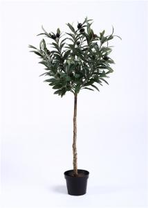 China Rejuvenating Olive Tree Bonsai Regal Stature Command Attention Environmental Artificial on sale