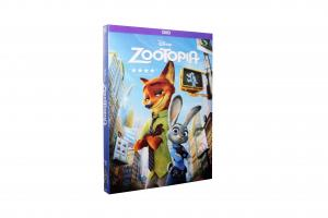China Free DHL Shipping@2016 New HOT Disney DVD Movies Cartoon Moveis Zootopia Wholesale!! on sale