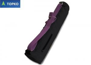 China Customized Large Full Zipper Cotton Yoga Bag For Women / Yoga Mat Holder on sale