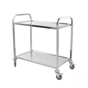 China Supermarket Use Aluminium Platform Trolley Powder Coated Waterproof on sale