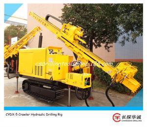 China CYDX-5 Crawler Hydraulic Drilling Rig on sale