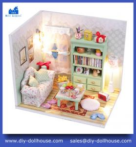 China Doll house miniature handmade creative building model M012 on sale