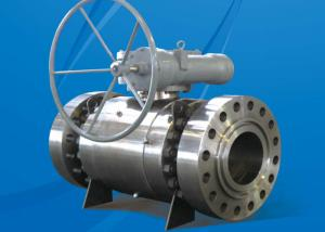 China 150LB HE Series Trunnion Mounted Ball Valve Fireproof Antistatic Design on sale