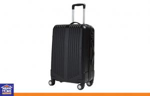 China Black or Custom Travel Luggage Cases / Fashion ABS Trolley Plain Hand Luggage Bags on sale