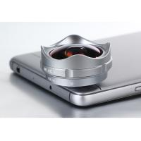 Universal Clip Lens Mobile Phone Camera , 0.36X Clip On Phone Lens 4.1mm Focal Length