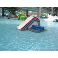 Rainbow Bridge Kids Water Slide Fiberglass Commercial Interactive Water Toy
