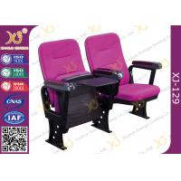 Injection Polyurethane Foam Low Back Auditorium Conference Hall Chair With Soft Seat Back