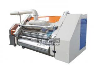 China Steam Heating Corrugated Box Making Machine , Single Facer Corrugated Machine on sale