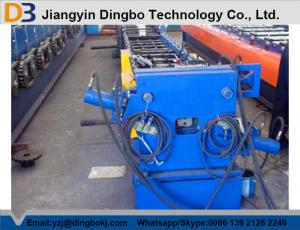 China PLC Control Square Shaped Pipe Making Machine With Full Automatic Cutting on sale