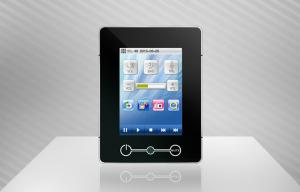China 8 Zone smart home control systems , 3.5 inch Touch Screen Control Panel on sale