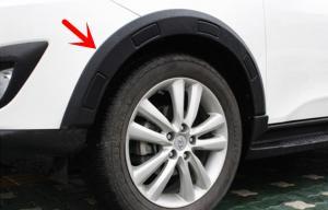 China OE Style Auto Wheel Arch Flares For Hyundai Tucson 2009 2012 IX35 on sale