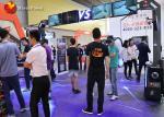 Indoor Virtual Reality Simulator / Vr Standing Platform With Gun Cs Fighting