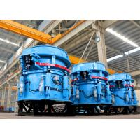 Construction Material Hydraulic Cone Crusher Self Cube Shaped 135-170 Tons Per Hour