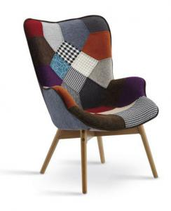 China Modern fabric safo/ modern fabric armchair/part/single sofa/seater/chelini/armchair on sale