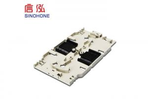 China Plastic ABS Fiber Optic Termination Box SC LC Adapter For FTTH Tool Fusion on sale