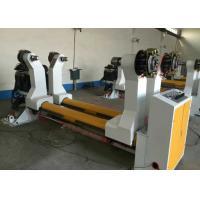 China Hydraulic Power Corrugated Paper Roll Machine 0.6 - 0.8 Mpa Air Source Working Pressure on sale
