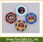 High Quality Round 11.5g Clay Poker Chips/Ceramic Poker Chips