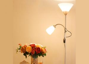 China Night LED Adjustable Floor Lamp With Dimmer , Led Reading Lamp Floor Standing on sale