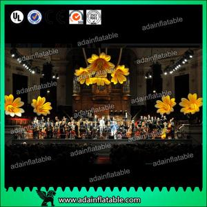 China Fashion Lotus Flower Inflatable Lighting For Floating Artificial Decorative on sale