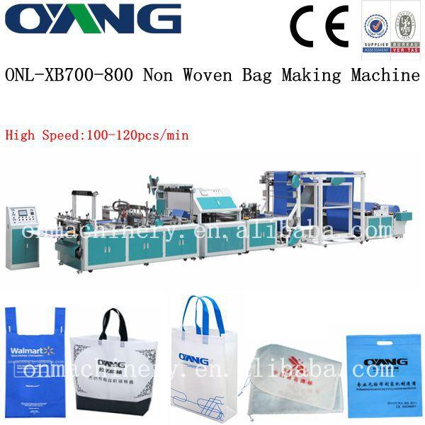 ONL-XB700 Taiwan Ultrasonic non woven vest bag making machine price Images a1b61b4ca65e2