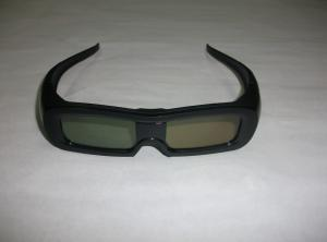 China PC Plastic Universal Active Shutter 3D Effect Glasses Rechargeable on sale