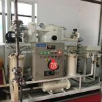 Double-Stage Vacuum Cable Oil Purification Plant/ Insulation Oil Dehydration Recycling Equipment