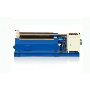 China Mechanical 3 Rollers Plate Rolling Machine , Steel Roll Bending Machine on sale