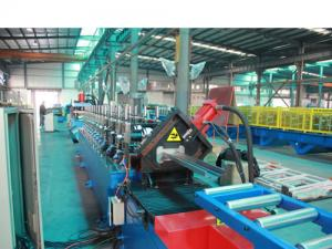 China Cold Steel Sheet Door Frame Roll Forming Machine , Metal Roofing Roll Forming Machine on sale