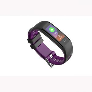 China Color screen smart bracelet with Step pedometer,Distance Track,Calorie counter,Sleep monitor,Clock on sale