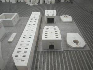 Quality AZS--33/36/41 Fused cast zirconia-corundum refractory bricks for sale