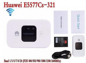 China White Hotspot Wireless Router Unlocked Huawei E5577-321 3G 4G LTE Cat4 Mobile on sale