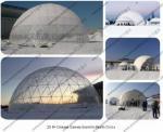 φ20M Popular Fashion Geodesic Dome Tent for Outdoor Celebration, Ceremony and Party Event