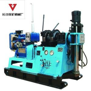 China Prospecting Core Drilling Machine 300m / 1500 Rpm Long Spindle Stroke on sale