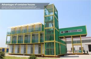 China UK Type Shipping Container Dormitory , modular container homes for living on sale