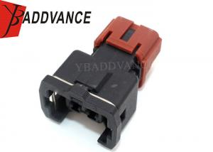 China Automotive Fuel Injector Connectors 2 Pin Female Gender With Orange Clip on sale