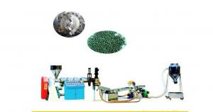 China Twin Screw Plastic Pellet Extruder Waste Film Scrap Granulation on sale