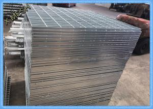 China Twisted Bar Galvanized Steel Wire Mesh Screen Driveway Grates Grating 1000x5800mm on sale